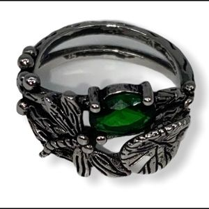 Jewelry - Dragonfly Ring, 925 Silver